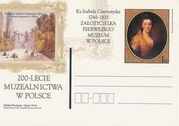 Poland Postcard Cp. 1258: Museology 200 Years I.Czartoryska - Postwaardestukken