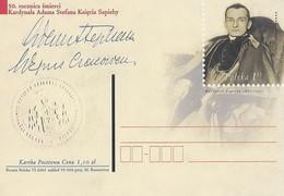 Poland Postcard Cp. 1262: Religion Cardinal Adam Sapiecha - Postwaardestukken