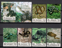 Cuba 2020 / Reptiles Snakes MNH Serpientes Reptilien Schlangen / Cu18421  C4-29 - Snakes