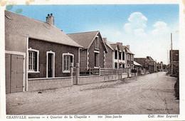 CPA -  GRANVILLE   Nouveau  (50)  Quartier De La Chapelle -  Rue Jean - Jaurès - Granville