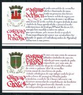 Portugal Nº Carné-1735/36 Nuevo - Markenheftchen