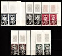 TUNISIE PROTECTORAT 1954 Y&T  N° 383 à 387 N** B4 CdF - Ongebruikt