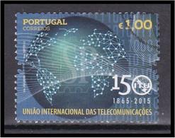 Portugal 2015 150 Anos Da UIT União Internacional De Comunicações International Communications Union - Used Stamps