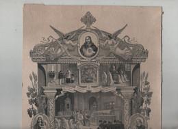 Abbé Chauvin Manosque Saint Laurent De Mure 1908 Valentine Marron - Religion & Esotérisme