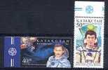 KAZAHKSTAN 1999, ESPACE, 2 Valeurs, Neufs. R1348 - Asien