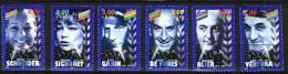 1998-N°3187/3192**-P.C.AC       TEURS  DU CINEMA FRANCAIS - Ongebruikt
