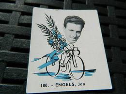 CYCLISME :CHROMO DES ANNEES 40/50 GEANTS DE  LA ROUTE DE ENGELS JAN BELGIQUE BELGIAN CHEWING GUM ANTWERPEN - Cycling
