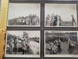 NIM 29166  INDOCHINE - SAIGON ET SA REGION SOUVENIRS D UN LTN DU 2°BATAILLON DU 3°RTM 1948-1951 4 PHOTOS - Zonder Classificatie