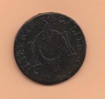 1 Sol A La Balance An II. Sans Dates AA  (1794). Peu Courante - 1789 – 1795 Monedas Constitucionales