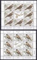 SERBIA 2021,EUROPA CEPT,,ENDANGERED NATIONAL WILDLIFE,FAUNA,BIRDS,FALCO,EREMOPHILA,,SHEET, MNH - Non Classés