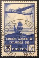 320 Ingrande Maine Et Loire Conquête Aérienne 1937 Oblitéré - 1921-1960: Periodo Moderno