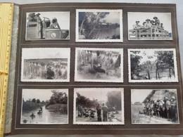 NIM 29168  INDOCHINE - SAIGON ET SA REGION SOUVENIRS D UN LTN DU 2°BATAILLON DU 3°RTM 1948-1951 9 PHOTOS - Zonder Classificatie