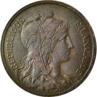 Monnaie, France, Dupuis, 2 Centimes, 1920, Paris, TTB+, Bronze, Gadoury:107 - B. 2 Céntimos