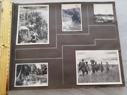 NIM 29169  INDOCHINE - SAIGON ET SA REGION SOUVENIRS D UN LTN DU 2°BATAILLON DU 3°RTM 1948-1951 5 PHOTOS - Zonder Classificatie