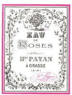 HONORE PAYAN . EAU DE ROSES - Etiquetas