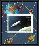 Ajman - 2934/ N°335 A Apollo 7 Vostok Spacecraft CCCP RUSSIA Espace (space) Deluxe Miniature Sheet Neuf ** MNH - Asien