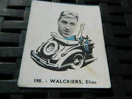 CYCLISME :CHROMO DES ANNEES 40/50 GEANTS DE  LA ROUTE DE WALCKIERS ELIAS  BELGIQUE BELGIAN CHEWING GUM ANTWERPEN - Cycling