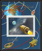 Ajman - 2937/ N°337 A Apollo 7 Flight Espace (space) Deluxe Miniature Sheet Neuf ** MNH - Asien