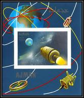 Ajman - 2937b/ N°337 B Apollo 7 Flight Espace (space) Deluxe Miniature Sheet Neuf ** MNH Non Dentelé Imperf - Asien