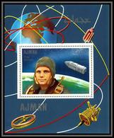 Ajman - 2938/ N°333 A Gagrine Gagrin Spacecraft Espace (space) Deluxe Miniature Sheet Neuf ** MNH - Asien