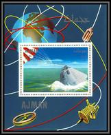 Ajman - 2942/ N°338 A Apollo Landing Espace (space) Deluxe Miniature Sheet Neuf ** MNH - Asien