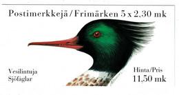 Ref 1487 - 1993 Finland Booklet 11.50 Mk - Bird Stamps - Nuevos