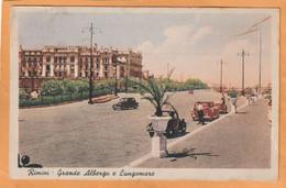 Rimini Italy Old Postcard - Rimini