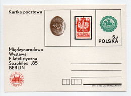 - Carte Postale POLOGNE - SOZPHILEX 85 BERLIN - - Postwaardestukken