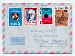- Lettre KRAKOW (Pologne) Pour RUEIL-MALMAISON (France) 23.6.1987 - Bel Affranchissement Philatélique - - Brieven En Documenten
