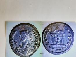 Antoninien De Probus Tête à Gauche Rv/ Romae Aeter Temple Rome Assise - 5. La Crisis Militar (235 / 284)