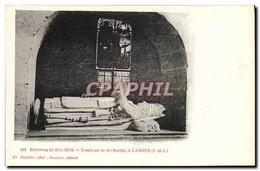 CPA Environs De Saumur Tombeau De St Martin A Candes - Funérailles
