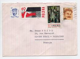 - Lettre KRAKOW (Pologne) Pour RUEIL-MALMAISON (France) 12.5.1985 - Bel Affranchissement Philatélique - - Brieven En Documenten