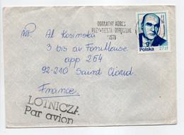 - Lettre RYBNIK (Pologne) Pour SAINT-CLOUD (France) 10.11.1981 - Bel Affranchissement Philatélique - - Brieven En Documenten
