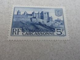 CARCASSONNE - Rempart De La Cité - 5f. - Outremer - Neuf Sans Charnière - Année 1938 - - Nuovi