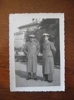 INTERESSANTE LOTTO 4 FOTO LOT VIGILI URBANI CHIAVARI DIVISA RITRATTI FOTOGRAFIA AZZONI - War, Military
