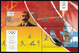 Argentina 2013 International Olympic Committee SS MNH - Nuovi