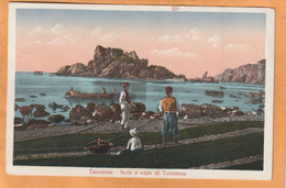 Taormina Italy Old Postcard - Other Cities