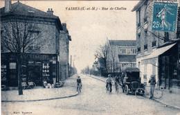 77 - Seine Et Marne -  VAIRES Sur MARNE - Rue De Chelles - Petits Commerces - Vaires Sur Marne