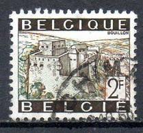 BELGIQUE. N°1397 De 1966 Oblitéré. Château De Bouillon. - Schlösser U. Burgen
