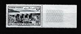 TUNISIE PROTECTORAT 1950-51 Y&T  N° 330 N** BORD DE FEUILLE - Ongebruikt