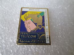 PIN'S    FRANCE  TELECOM  ORLEANS    MOZART - Telecom Francesi