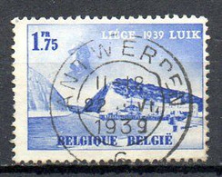 BELGIQUE. N°487 De 1938 Oblitéré. Propagande Pour L'exposition De Liège. - Other International Fairs