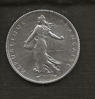 FRANCE /  Pièce De 1 Franc Semeuse Argent 1918  état : TTB - H. 1 Franco