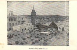 E 5080 - Tunisie  Tunis  Vue Generale - Tunisia