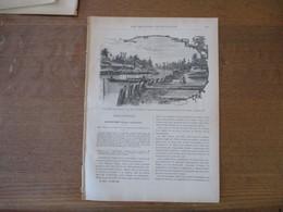 LES MISSIONS CATHOLIQUES DU 25 MAI 1894 CAMBODGE LES RIVES DU MEKONG,FAMILLE CHALDEENNE UNIE DE SINAH,VILLAGE SUR LE FLE - Riviste - Ante 1900