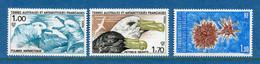 ⭐ TAAF - Terres Australes Et Antarctiques Françaises - YT N° 115 à 117 ** - Neuf Sans Charnière - 1986 ⭐ - Nuevos