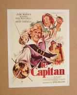 Affiche - Affichette - Poster Le Capitan, Avec Jean Marais, Bourvil, Elsa Martinelli De André Hunnebelle - Posters