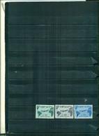 ITALIE VISITE DU PRESIDENT GRONCHI EN AMERIQUE DU SUD 3 VAL NEUFS A PARTIR DE 3 EUROS - 1961-70:  Nuevos