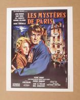 Affiche - Affichette - Poster Les Mystères De Paris, Avec Jean Marais, Dany Robin De André Hunnebelle - Posters