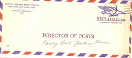 Etats-Unis 1973 - Lettre Pa Official Business 44 De New York à Poissy/Yvelines -  Reclamation - Penalty For Private Use - Other